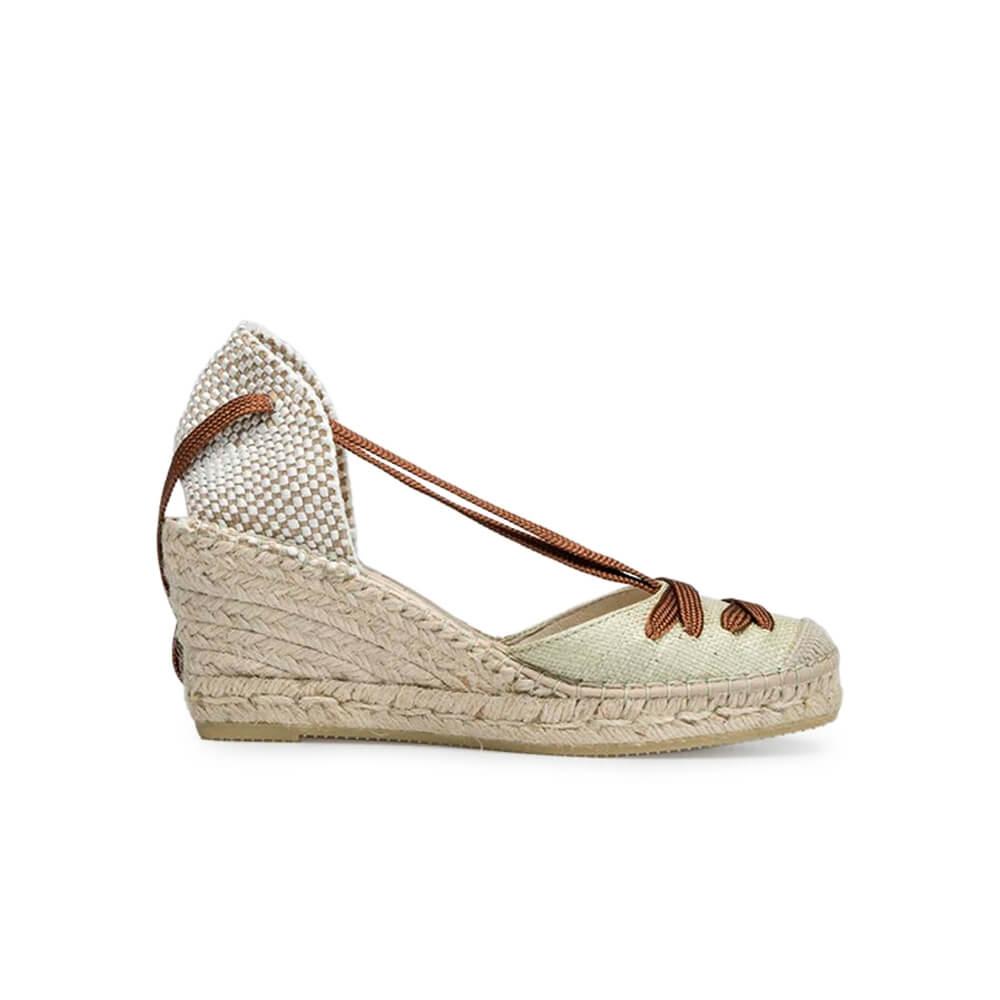 Wedged Jute Sandal