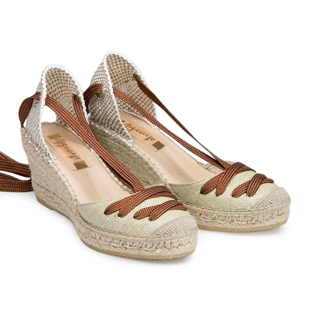 Wedged Jute Sandal - Item1
