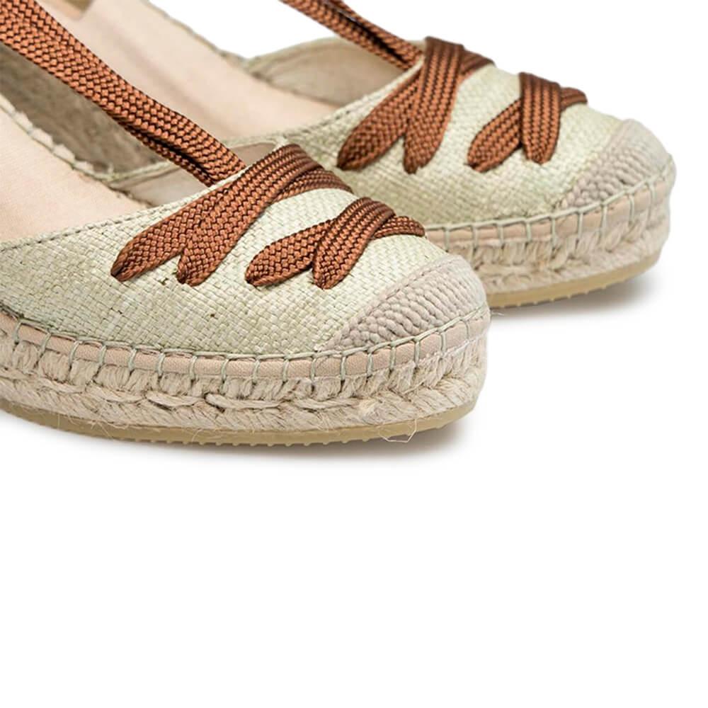 Wedged Jute Sandal - Item2