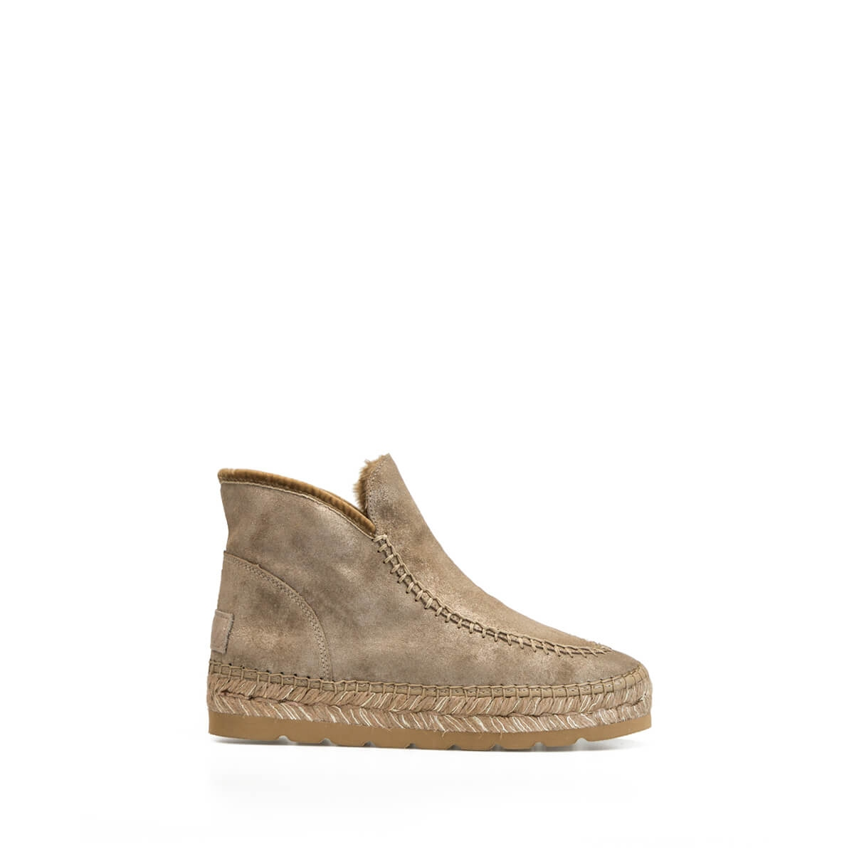 size 40 fe579 5fdb0 Camel Glitter Shine Winter Leather Ankle Boot