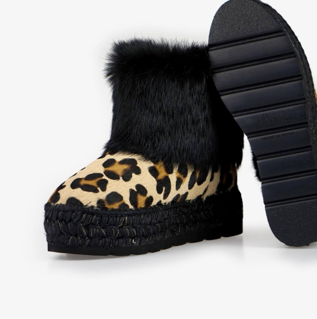botas estampado animal print