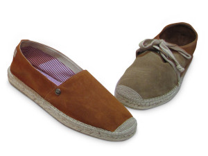 Vidorreta's espadrilles also for man
