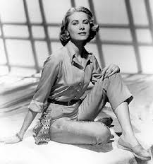 Grace kelly with espadrilles