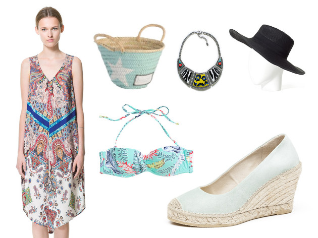 Vidorreta Espadrilles looks for beach
