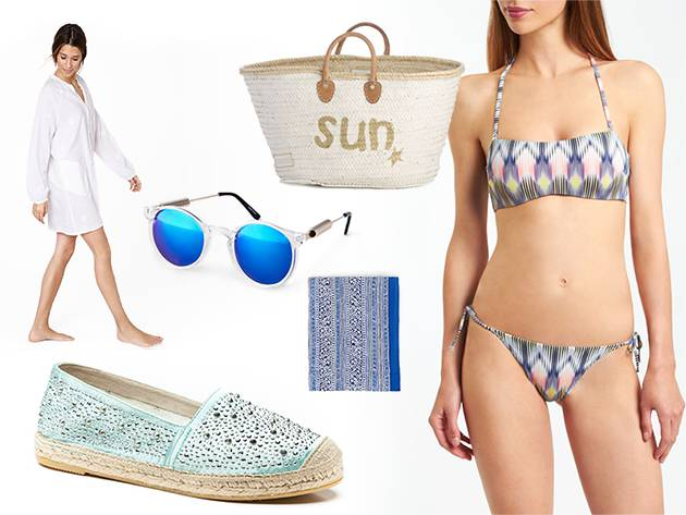 Look with Vidorreta espadrilles for the beach