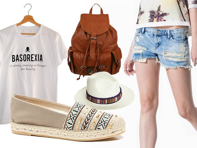 Espadrille look for music summer festivals