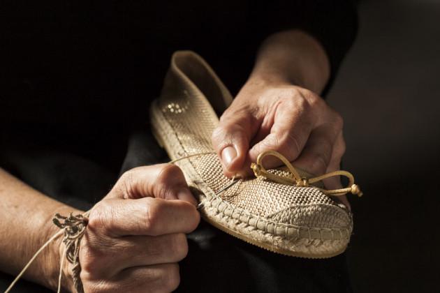 Lovingly handmade vidorreta espadrilles