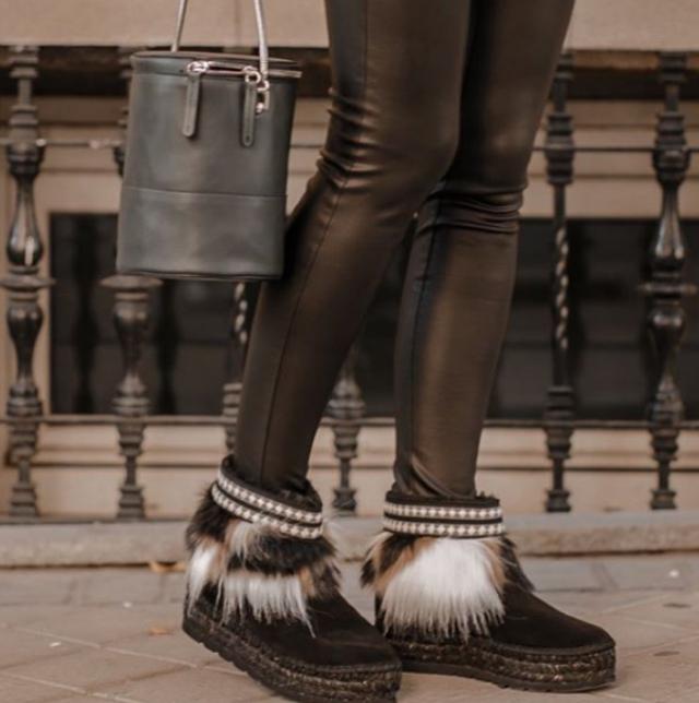 botas de pelo Vidorreta