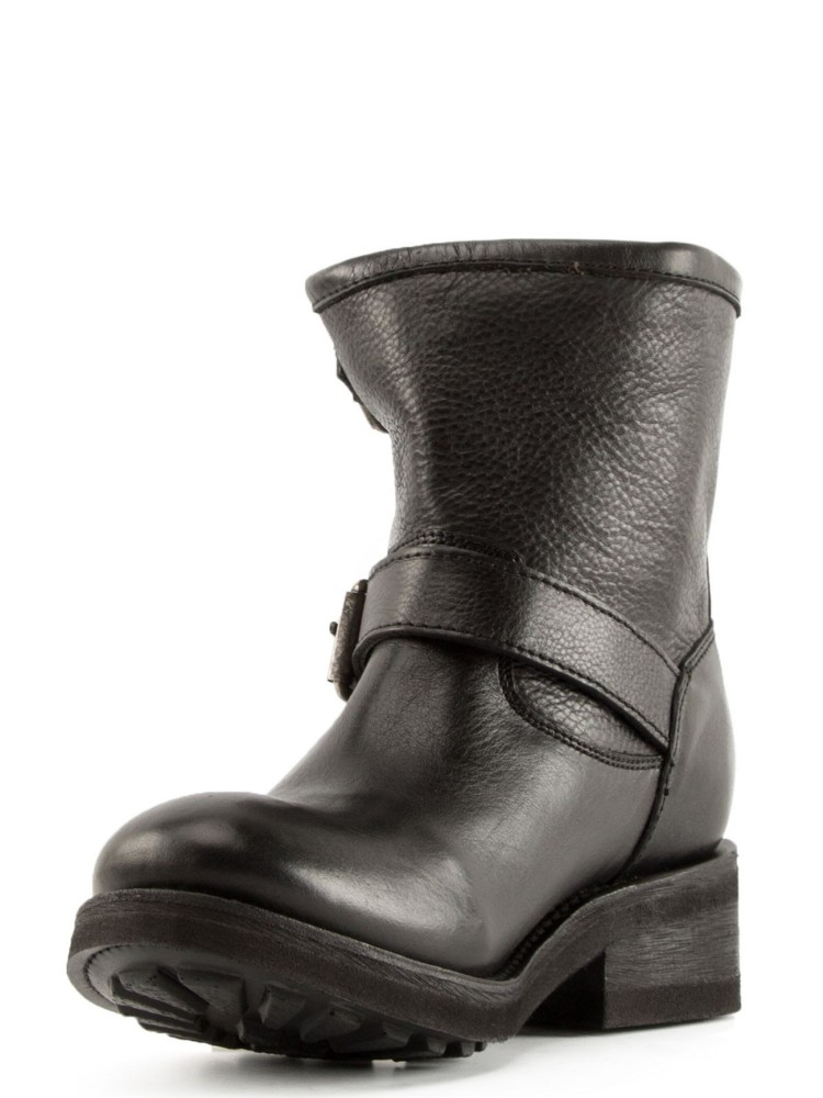 TEARS Biker Boots Black Leather - Item2