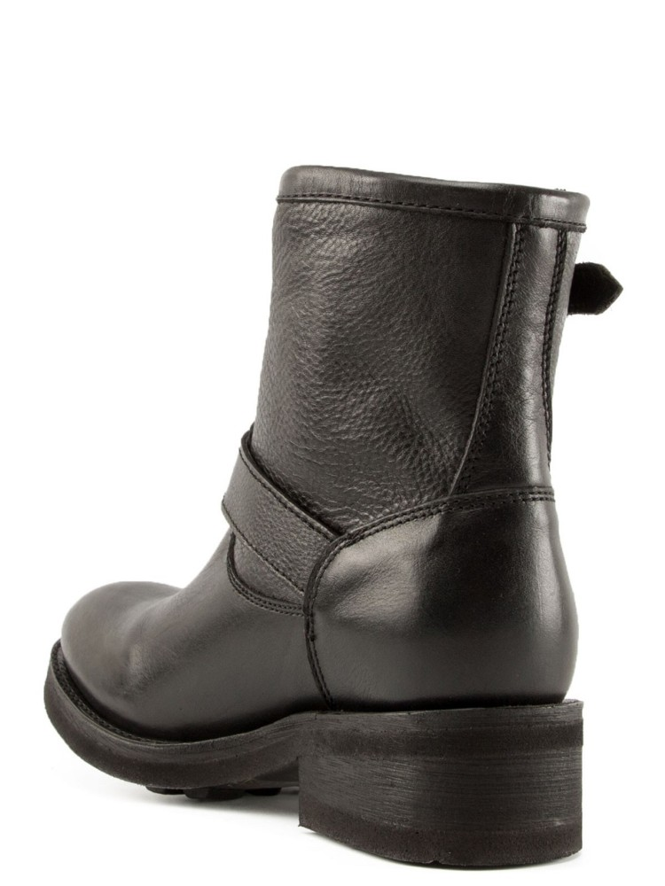 TEARS Biker Boots Black Leather - Item3
