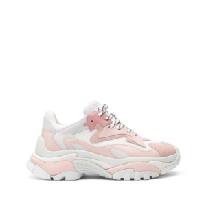 ADDICT XXL Trainers Pastel Pink Leather ¬ White Mesh