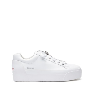 BUZZ Nappa Calf White/Red