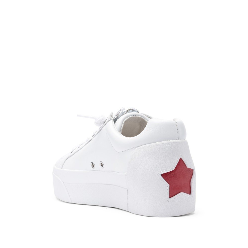 BUZZ Nappa Calf White/Red - Ítem2