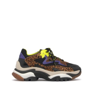 ADDICT Nappa Calf Black/Pony Leopardo Tan/Black