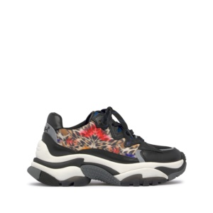 ADDICTION Nappa Black/Paisley Nylon Cheeta/Mesh