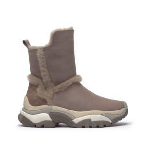 ALPES Shearling Straight Taupe/Baby Soft Taupe