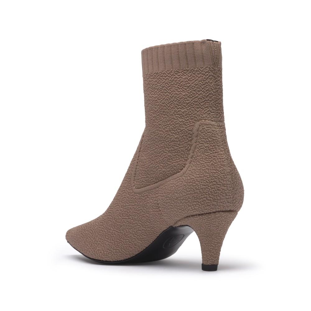 CARLIE Curly Knit Camel - Ítem2