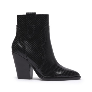 ESQUIRE Snake Print Black