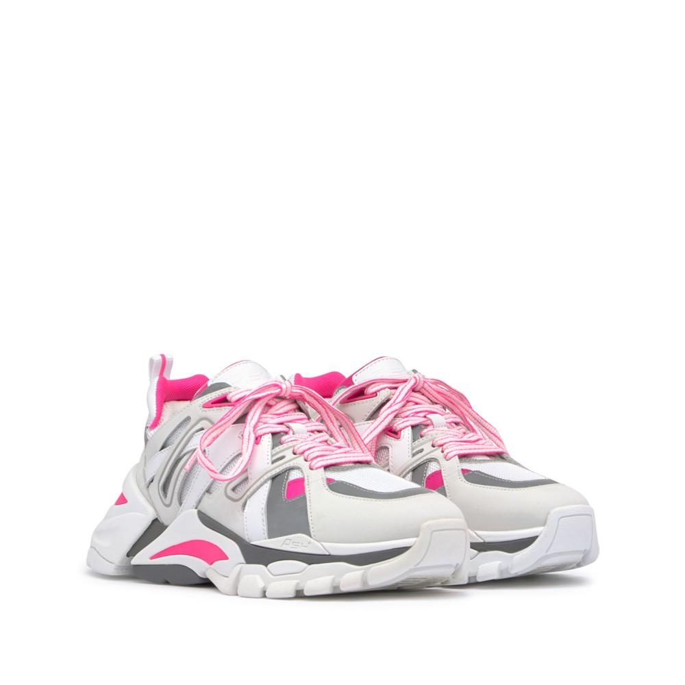 FLASH Nubuck White/Silver/Soft Brasil Fluo Pink - Ítem1