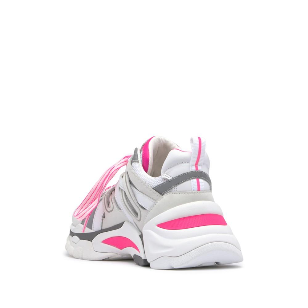 FLASH Nubuck White/Silver/Soft Brasil Fluo Pink - Ítem2