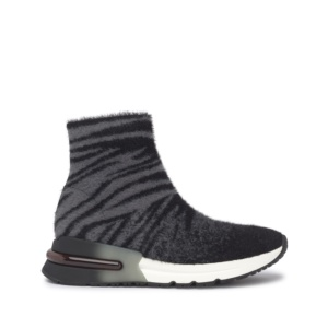 KING Tiger Knit Fog/Black