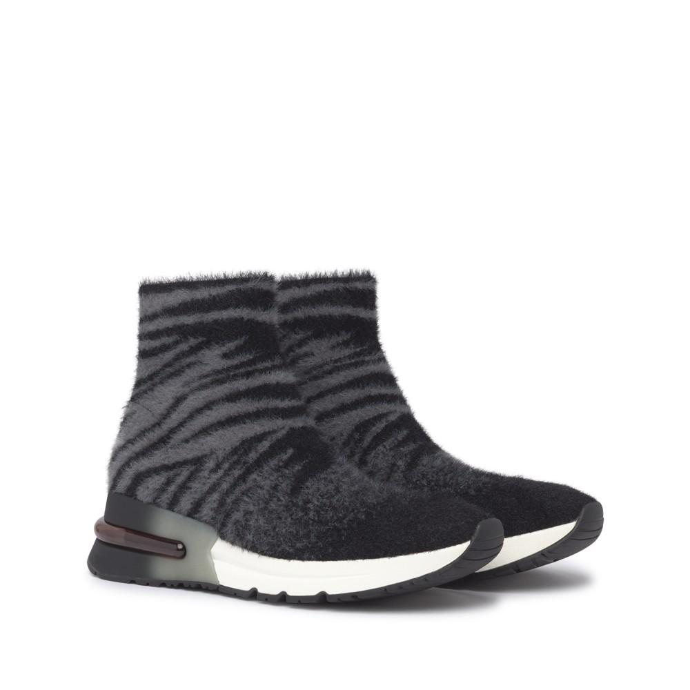 KING Tiger Knit Fog/Black - Ítem1
