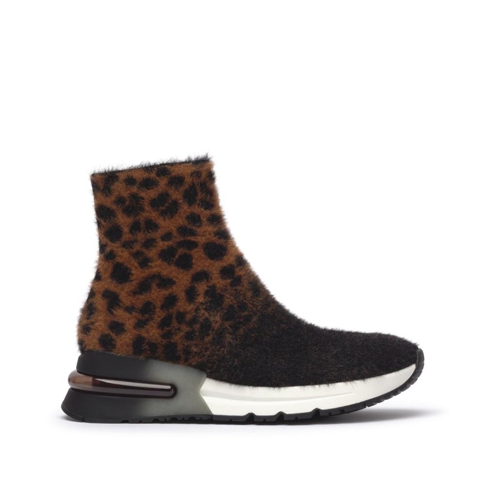 KING Leopardo Knit Tan/Black - Ítem