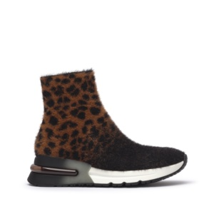 KING Leopardo Knit Tan/Black