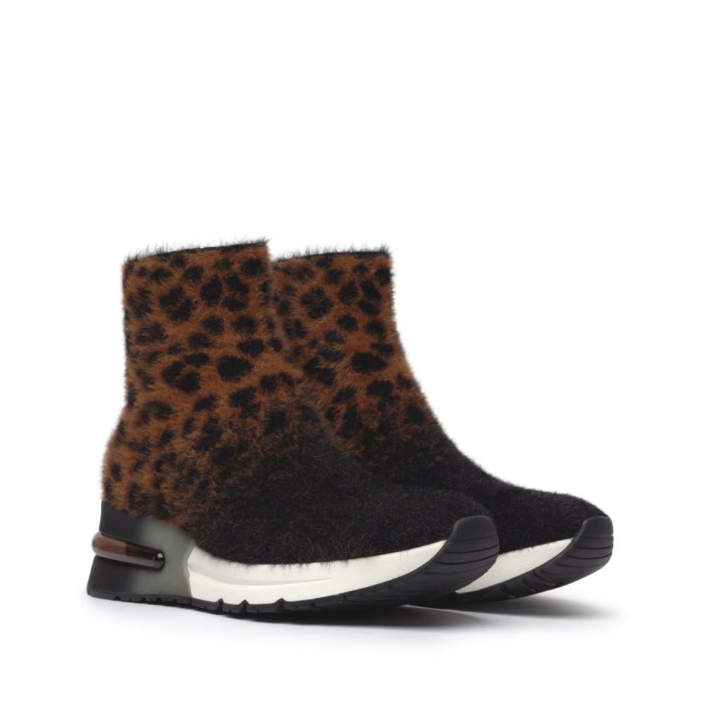 KING Leopardo Knit Tan/Black - Ítem1
