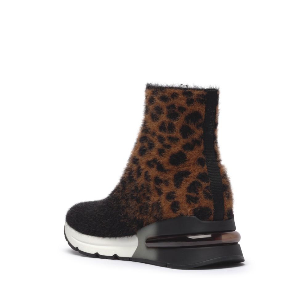 KING Leopardo Knit Tan/Black - Ítem2
