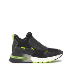 KRYSTAL Nappa Black/Lycra Black/Reflex Fluo Yellow