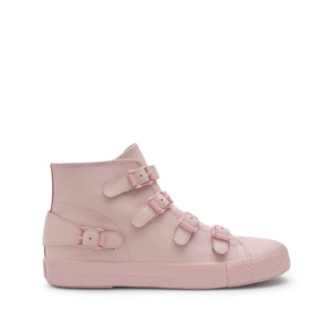 VENUS Buckle Trainers Powder Leather