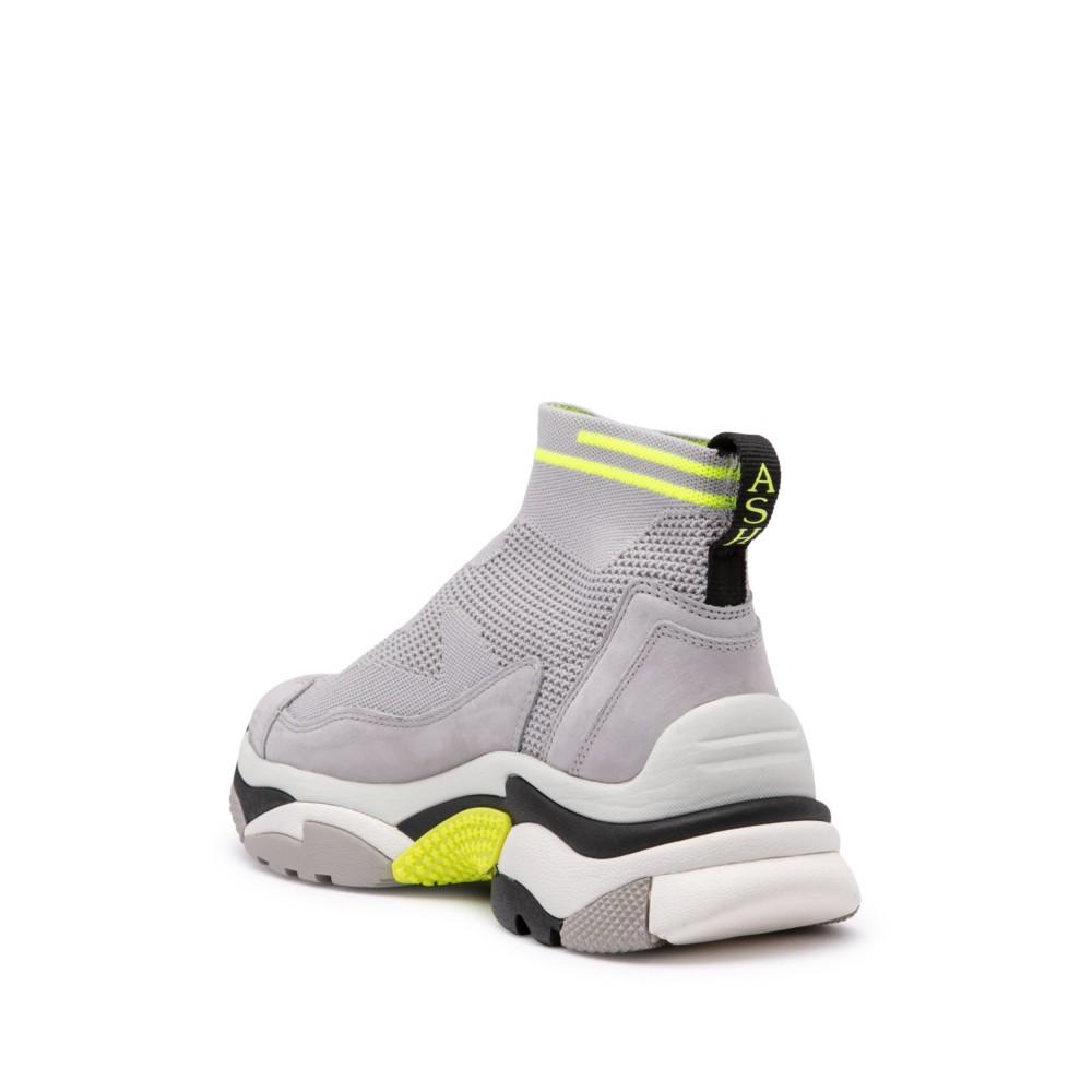 ADDICT STRETCH deportiva XXL punto gris y amarillo flúor - Ítem2