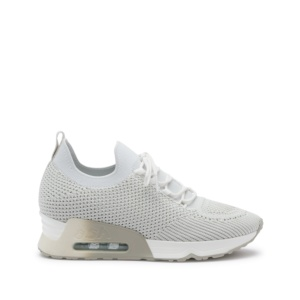 LUNATIC Trainers Knit White and Marble