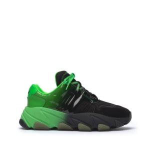 EXTASY Nubuck Black/Degrade Green