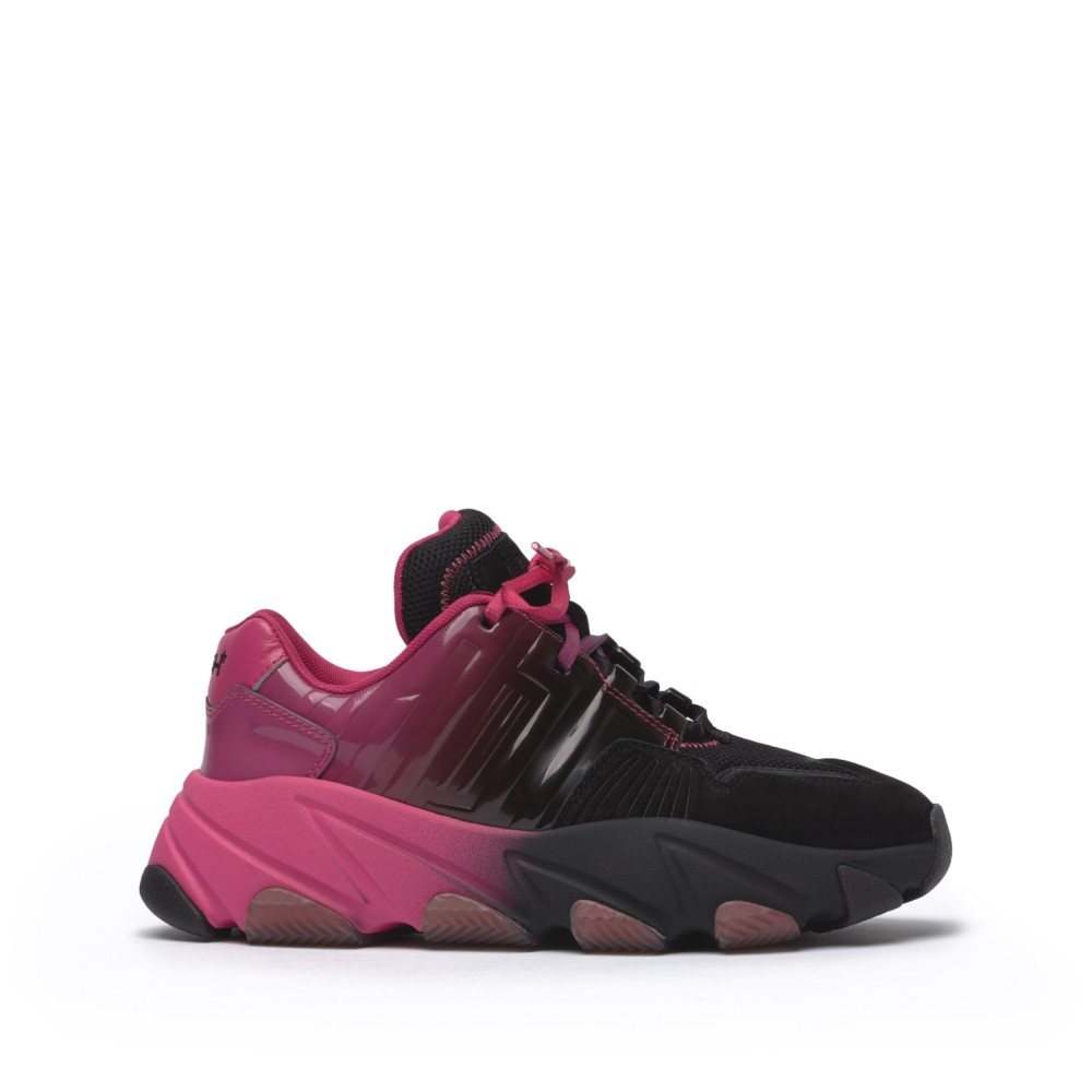 EXTASY Nubuck Black/Degrade Fuxia