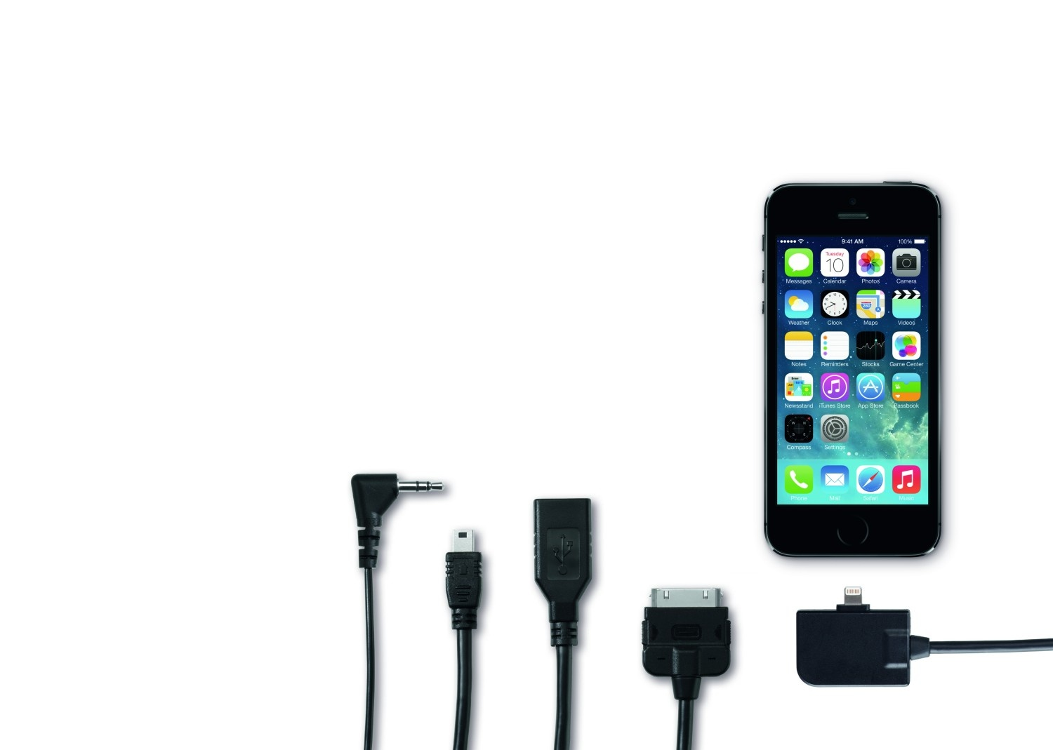 Adaptador iPhone para enchufe Media-In - Ítem - 1