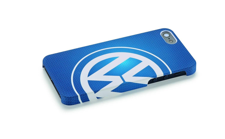 Funda protectora para iPhone 5, logotipo Volkswagen