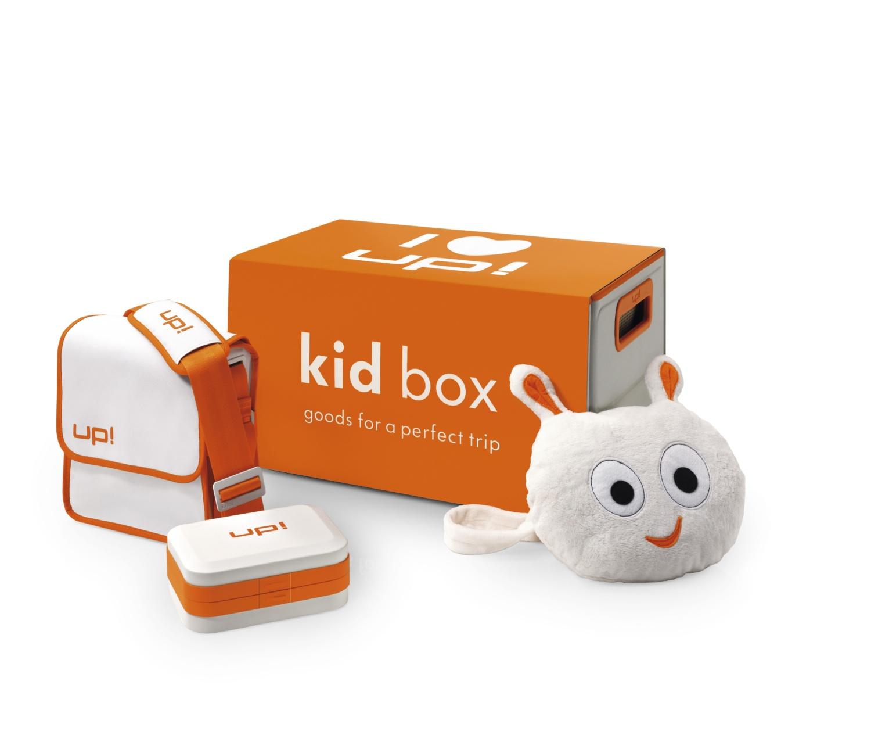 Kit de viaje con caja para utensilios