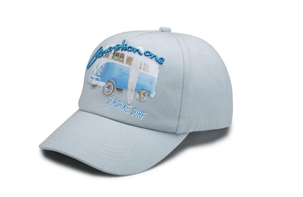 Gorra de béisbol Gris azulado, T1.