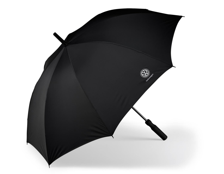 Paraguas de bastón con logo Volkswagen