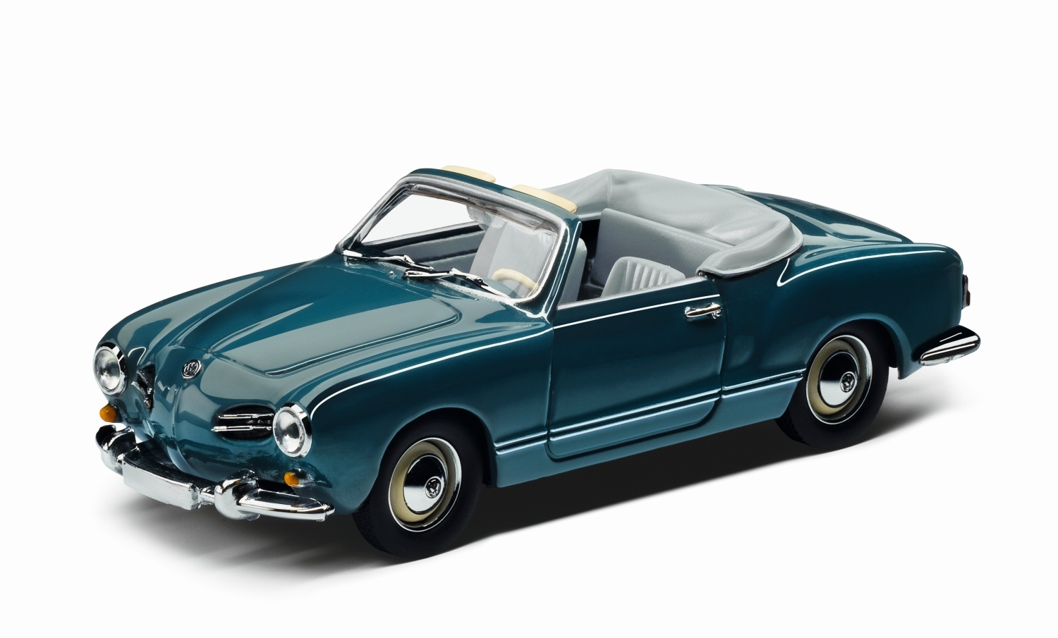 Karmann Ghia 1957, escala 1:43