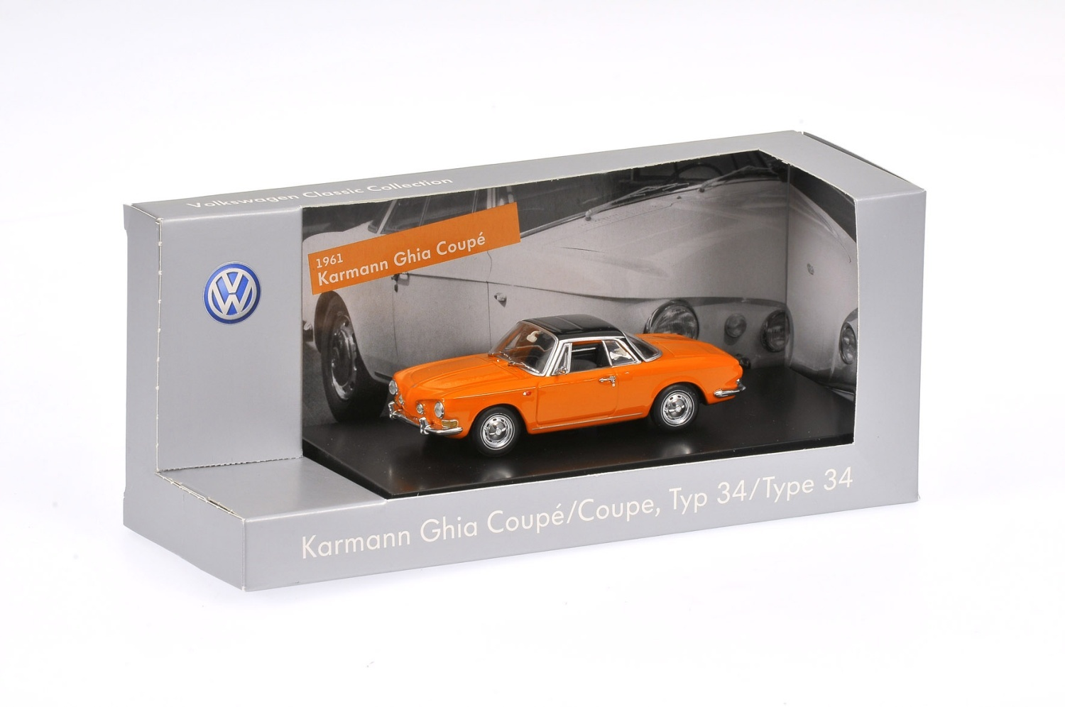 Karmann Ghia Coupé Tipo 34, escala 1:43 - Ítem2