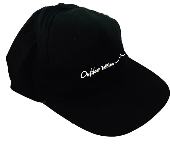 Gorra negra Multivan Outdoor Edition