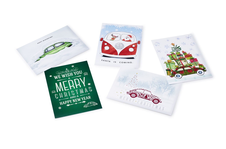 Juego de postales navideñas Volkswagen - Ítem1