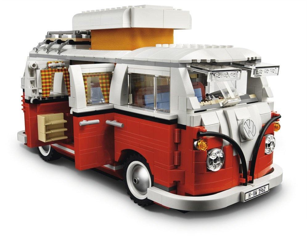 Juguete Lego Camping T1 rojo/blanco - Ítem1