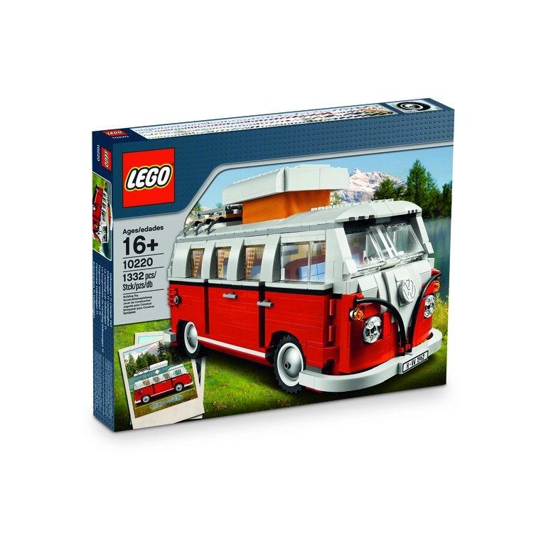 Juguete Lego Camping T1 rojo/blanco