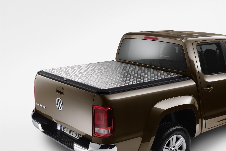 Cubierta del compartimento de carga (plegable) Aluminio