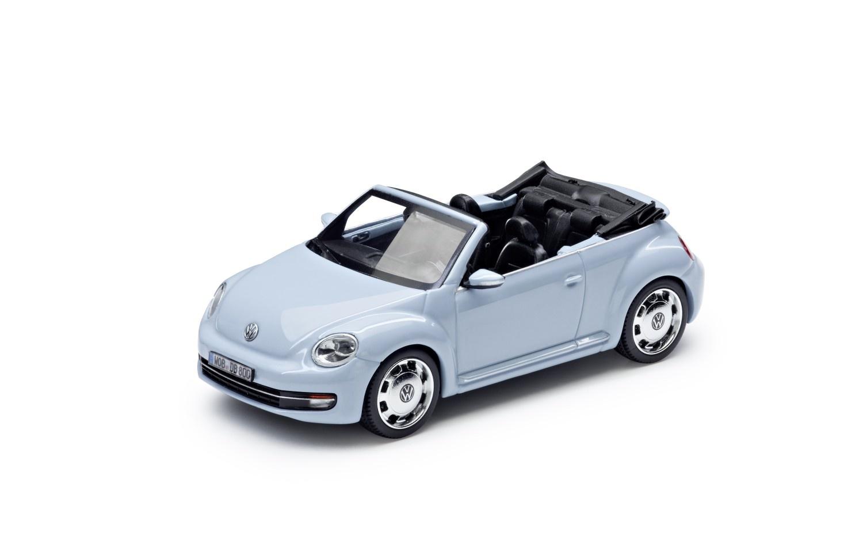 Beetle Cabrio 1:43, Denim Blue metalizado
