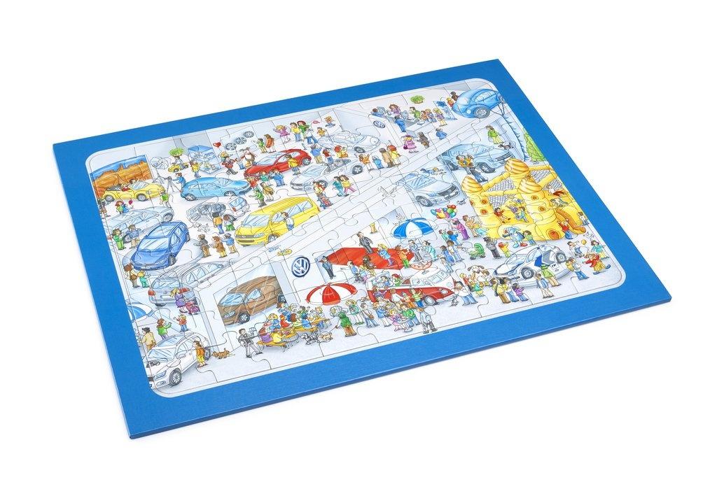 puzzle mundo Volkswagen